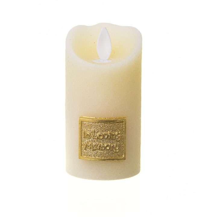 LED Yahrzeit Memorial Candle Holder in Ivory / In Loving ...