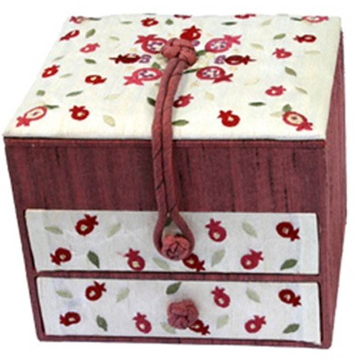 Jewelry Box Pomegranates