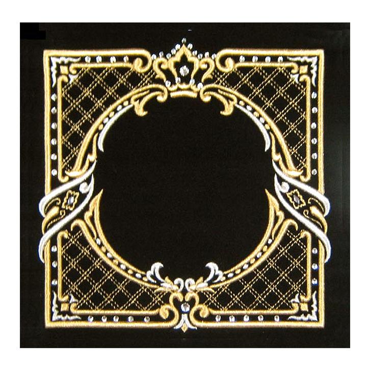 Canopy Design With Swarovski Crystals Velvet Tallit Tefillin Bag