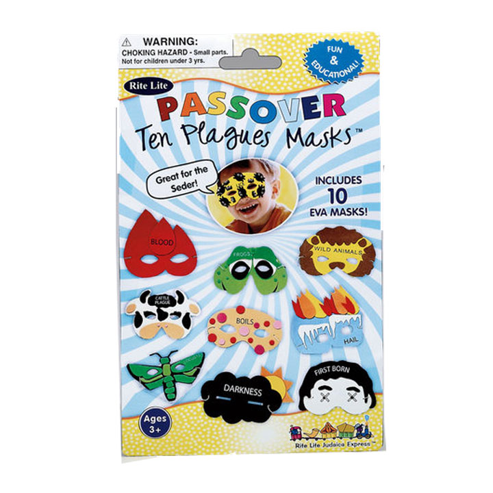 passover 10 plagues masks