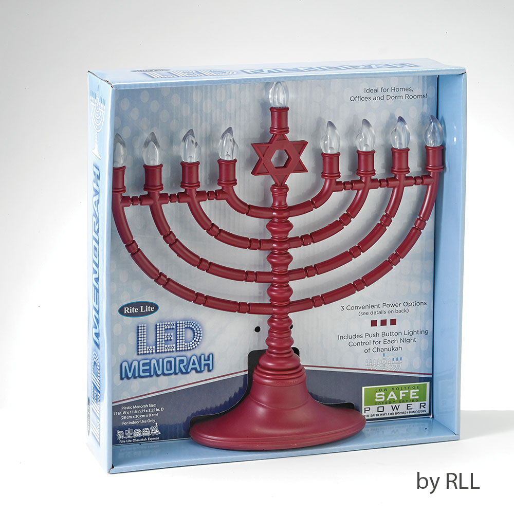 Quot Menoji Quot The Battery Operated Led Menorah That Makes You