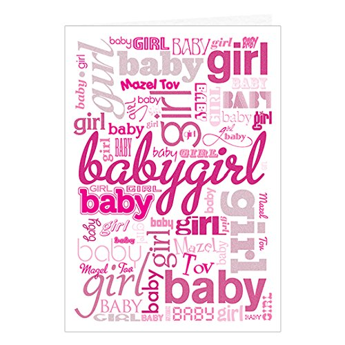 Girl Greeting Card And Envelope