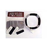 Kippah Scotch / 4 Velcro Stick Ons for Kippahs