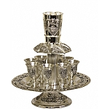 Silver Plated 8 Cup Fountain