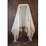 Queen Esther Chiffon Bat Mitzvah Shawl