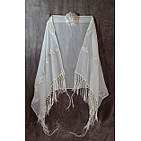 Queen Esther Polyester Chiffon Bat Mitzvah Shawl