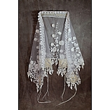 Queen Esther Polyester Tulle Wedding Shawl With Atarah
