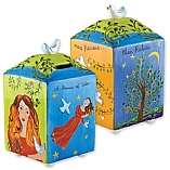 Woman of Valor Ceramic Tzedakah Charity Box