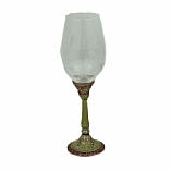 Jeweled Glass Ravenna Kiddush Cup