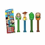 Toy Story Characters Dispenser in Blister Pack with 3 Kosher Pez Refill Candies