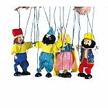Purim Marionettes / Set of 4