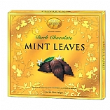 Dark Chocolate Mint Leaves in Gift Box