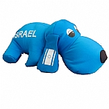 Israeli Stuffed Dog