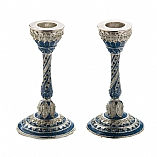 Jeweled Capri Candlesticks
