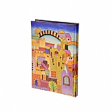 Hardcover Bound Notebook in Jerusalem Design