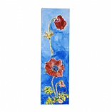 Decorative Bookmark in Anemone Design