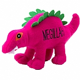 Plush Megillah the Dinosaur Chewish Squeak Treat Toy