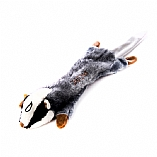 Plush Chutzpah the Badger Chewish Squeak Treat Toy