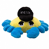 Plush Kvetch the Crab Chewish Squeak Treat Toy