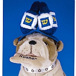 Plush Dreidel Draydel Hanukkah Pet Hat