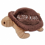 Plush Alter Kaker Tortoise Chewish Squeak Treat Toy