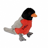 Plush Kvell the Robin Chewish Squeak Treat Toy