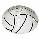 Volley Ball Leather Kippah