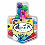 Hanukkah Gumballs in Draydel Shaped Box