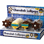 Chanukah Milk Chocolate Lollipop