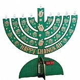 Electric LED Cardboard Environment Friendly Menorah