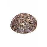 FL-114 Fancy Foil Embossed Leather Kippah