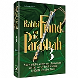 Rabbi Frand On the Parashah Volume 3