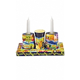 Hand Painted Shabbat Set / Havdalah Set in Jerusalem Design