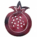Anodize Aluminum Two Piece Trivet / Pomegranate Red