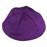 Purple Moire' Kippah