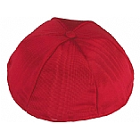 Red Moire' Kippah