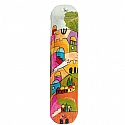Wooden Large Mezuzah / Jerusalem Vistas