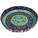 Extra Large Multicolored Pomegranate Design Bowl