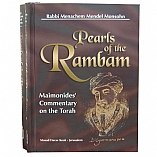Pearls of the Rambam / 2 Volume Set