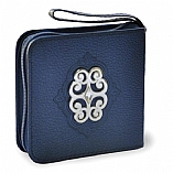 Mini Siddur With A Stud Shaped Buckle in Assorted Colors (Hebrew Only)