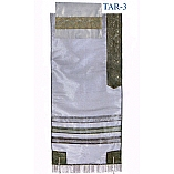 Grey Organza Tallit Set