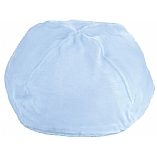 Light Blue Velvet Kippah