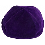Purple Velvet Kippah