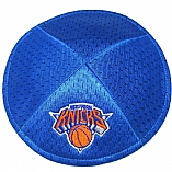 New York Knicks Mesh Kippah with Built In Kippah Clips