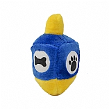 Plush Dreidel Hanukkah Draydel Chewish Squeak Treat Toy